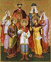 Всенощное бдение накануне дня памяти святых Царственных страстотерпцев в Сретенском монастыре