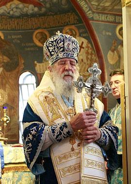 Митрополит Лавр в Джорданвилле. Фото: М. Родионов / Православие.Ru