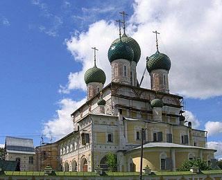 Тутаев, Собор Воскресения Христова. Фото: Каллиниковы / Соборы.Ru