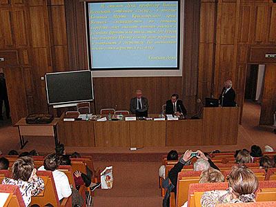 Заседание секции «Православие и медицина» на конгрессе «Человек и лекарство»