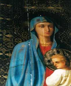 Марио Пейчев: «По милости Божией мы засняли в монастыре Св.Герасима Иорданского, как в канун Великой субботы 2001 года на лике Богородицы на иконе «Бегство в Египет» появилась слеза...»