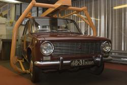 Первый автомобиль «ВАЗ-2101» – «копейка», – поступивший в продажу. Владелец ездил на нем до тех пор, пока руководство АвтоВАЗа и директор музея истории завода не уговорили его поменять свою машину на новую «девятку». Он согласился, хотя и неохотно.