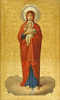 2. Иеромонах Алипий (Константинов). Валаамская икона Божией Матери. 1878 г.