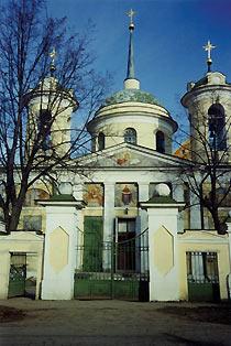 Храм Покрова Пресвятой Богородицы в с. Акулово Московской области