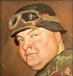 Портрет В. Авдеева кисти художника Яшина