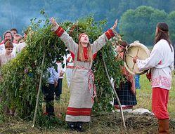 Купальские обряды современных язычников