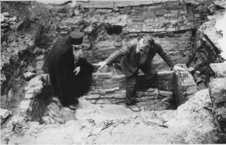Обретение мощей старца Иосифа. 1988 г.