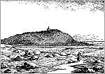 Фаворская часовня в честь Преображения Господня. Рисунок по литографии из альбома В.А.Черепанова (1884 г.)