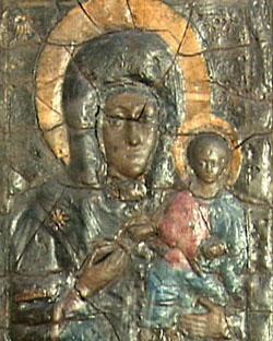 Икона Влахернской Божьей Матери (запасник ГТГ)