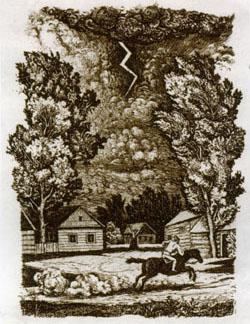 Илл. к стихотворению И.С. Тургенева «Деревня»