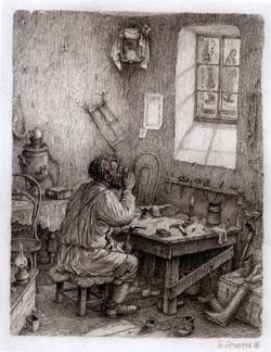 Илл. к Л.Н. Толстой «Чем люди живы»