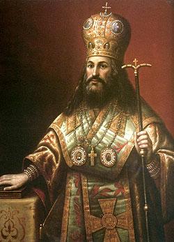 Патриарх Никон. Парсуна