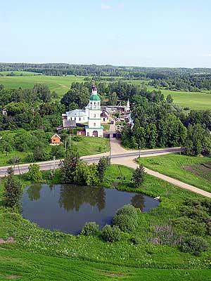Современное фото монастыря