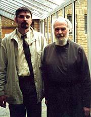 Митрополит Антоний Сурожский с автором