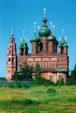 Храм Иоанна Предтечи в Толчкове в Ярославле.