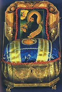 Глава преподобного Силуана