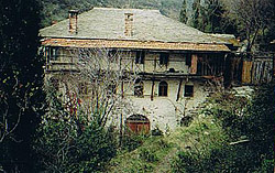 Мельница, на которой трудился преподобный Силуан