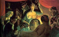 Ил. 2. С. Судейкин. Кабаре «Привал комедиантов» («Моя жизнь»). 1916 г.