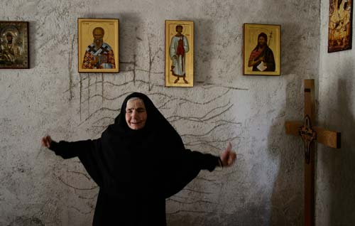 Монахиня Варвара рассказывает о чуде исцеления в монастыре Зочиште