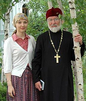 Прот.Феодор Шевцов в гостях в Москве. Фото Православие.Ru