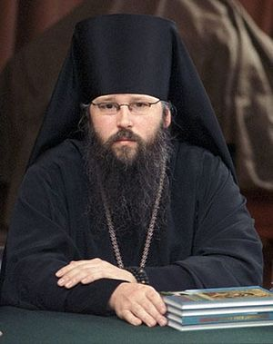 Archimandrite Zacchaeus (Wood) - Dean of the Church of St. Catherine the Great Martyr in-the-Fields, Representative of the Orthodox Church in America to the Moscow Patriarchate