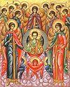 Божественная литургия в Сретенском монастыре в день Собора Архистратига Михаила и прочих Небесных Сил бесплотных