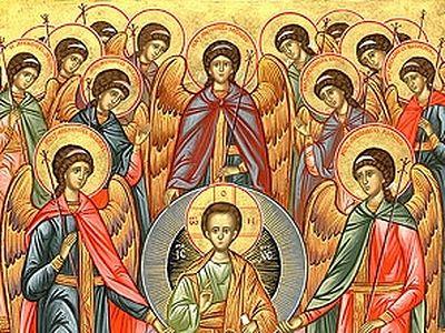 Собор Архистратига Михаила и прочих Небесных Сил бесплотных, архангелов: Гавриила, Рафаила, Уриила, Селафиила, Иегудиила, Варахиила и Иеремиила