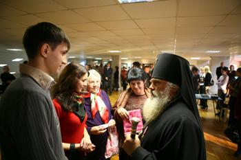 Архиепископ Вениамин на праздничном вечере