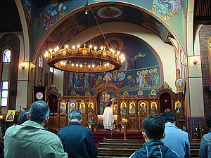 Литургия в соборе свт. Николая / Фото автора