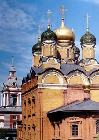 Храм Знамения Божией Матери (Знаменский монастырь на Варварке)