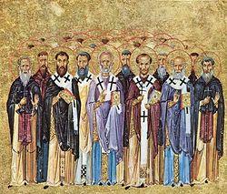 Святые Отцы. Миниатюра