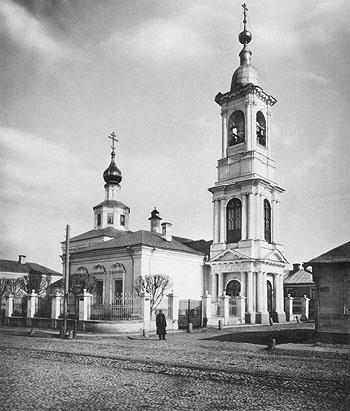 Храм святителя Николая в Плотниках