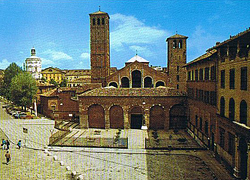 Базилика святителя Амвросия Медиоланского в Милане