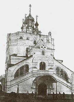 Успенский собор Артемиево-Веркольского монастыря