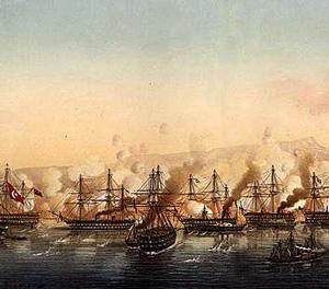 Англо-французская эскадра в Черном море