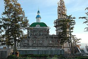 Идет реставрация собора