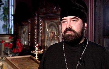 Священник Леонид, клирик Александро-Невского собора в Таллине