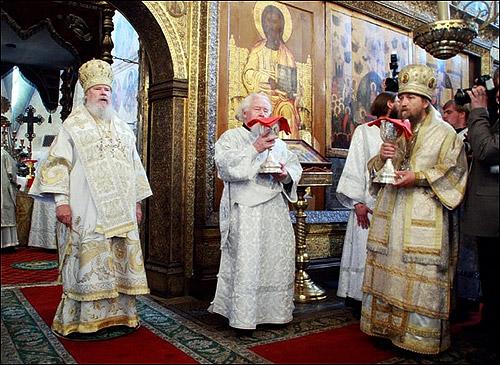 Успенский собор Московского Кремля. 20 мая 2007 г. Фото Петра Земляных