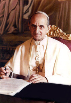 Павел VI, папа Римский с 1963 года