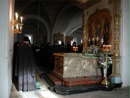 В Спасо-Преображенском соборе