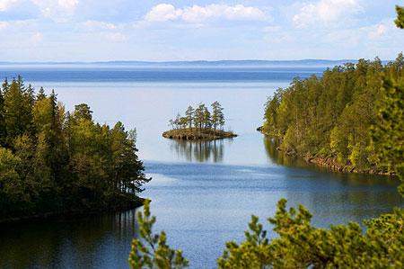 Вид на Ладогу. Фото: Павел Козионов