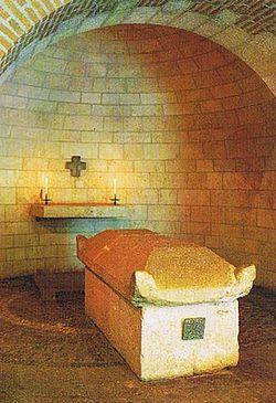 Гробница святой Афры