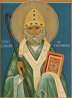 Святитель Дунстан, архиепископ Кентерберийский