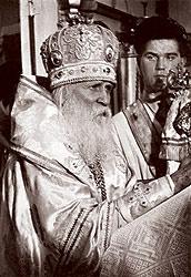 Митрополит Вениамин на Саратовской кафедре