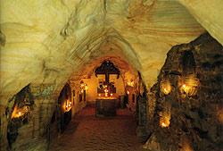 Святые пещеры. Место погребения митрополита Вениамина (Федченкова)