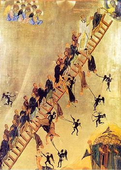 Icon of the Ladder of Divine Ascent, Mt. Sinai