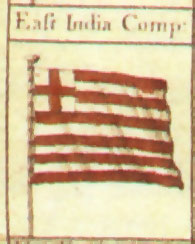 Флаг Ост-Индской компании