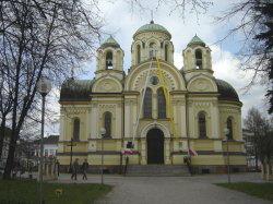 Бывший православный храм во имя равноапостольных Кирилла и Мефодия в Ченстохове