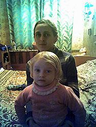 Матушка Анна с Сашенькой