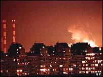 Бомбежка Белграда в 1999 г.